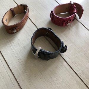 3 fossil bracelet